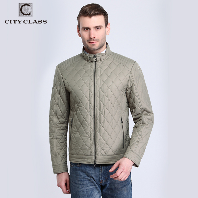 15128 Top Sale Spring Autumn Men's Business Stand Collar Short Quilted Outwear Coats New Fashion Professional Man Jackets Coats