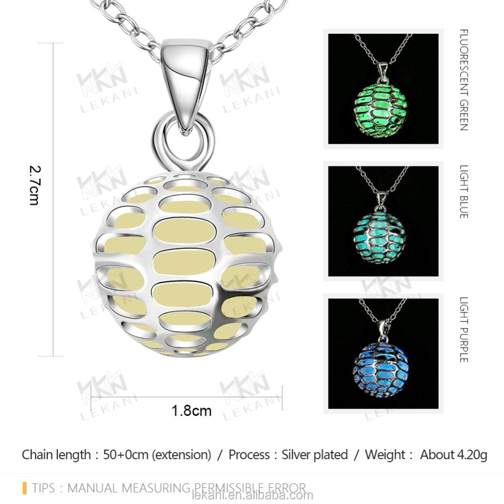 wholesale hollow basketball shape necklace with Luminous stone pendants for boyfriends
