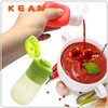 Condiment Storage Containers/Factory Direct Sale Food Grade Silicone Liquid Tube Leak-proof Squeeze Condiment Storage Containers