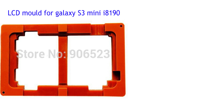 Refurbish Repair LCD Mould Touch Screen Mold Glass Holder for Sumsung Galaxy S3 mini I8190
