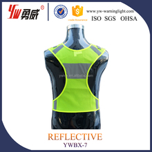 customized safety reflective jacket with high level reflector