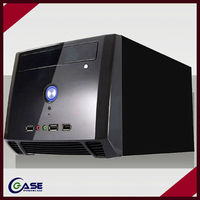 New vertical thin mini itx case/hot selling personal computer case