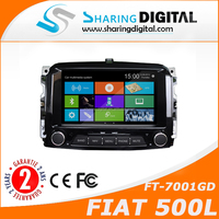 FT-7001GD Support Steering wheel control car navigation for FIAT 500L