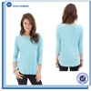 Long Sleeves High Collar Womens Plain New Style T Shirt Wholesale