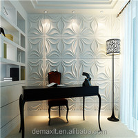 DBDMC Mdf 3d Wall Panel For Hotel Decoration /shpping Mall /bar /office Decoration
