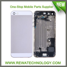100% Original New Back Cover Housing for iPhone 5, Rear Housing for Apple iPhone 5