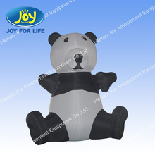 2013 vivid design inflatable panda model for sale and promotion