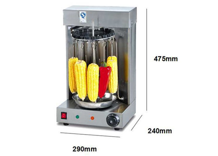 EB-21 Electric Heating Fully-Automatic BBQ Grill Kebabs And Corn Grill