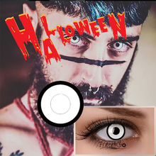 high quality lentilles de contact lenses sharingan cosplay red blue black out white blends crazy halloween contact lenses