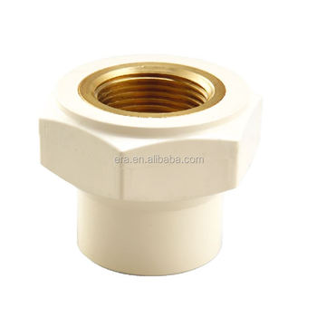 ERA CPVC Pipe Fitting Female Thread Adaptor With Brass