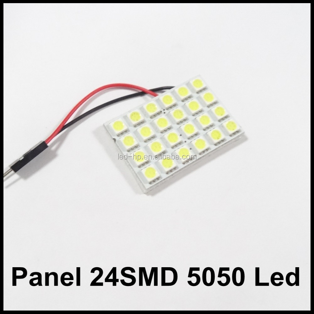 12v 24 smd 5050 PCB Led Car Auto Dome Light