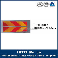 Transport Body Fitting Red Orange Reflective Tape for Bumper of Truck