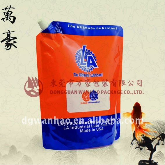 2.5L Lubricant oil with stand up spout bag