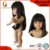 2017 synthetic human hair doll wig for wholesale