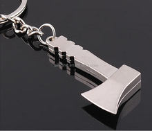 Wholesale hardware tool key chains /axe metal key chain
