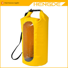 Custom logo 500D PVC outdoor 10/20/30L waterproof dry bag