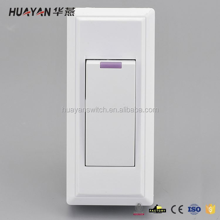 MAIN PRODUCT custom design hotel switch wall switch from manufacturer