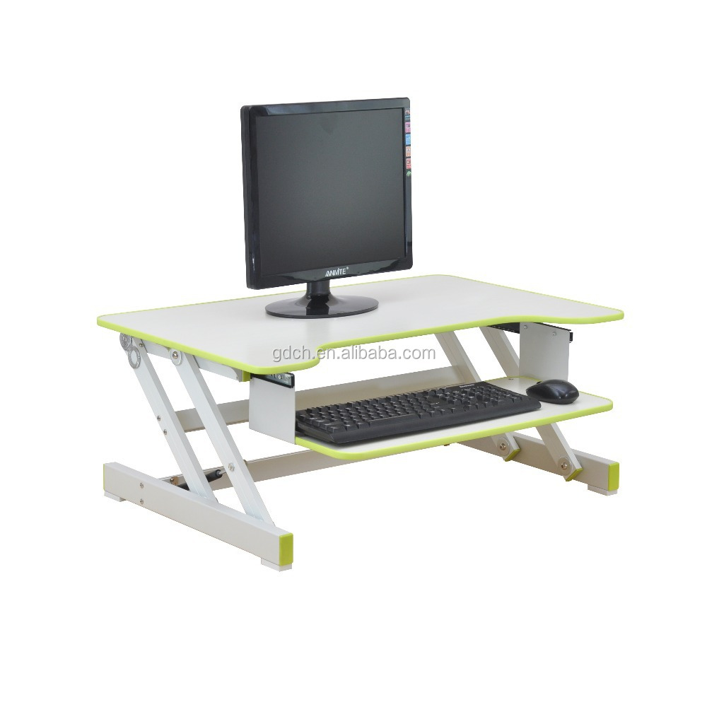 Wooden Stand Up Desk ~ Wooden stand up desk computer standing portable