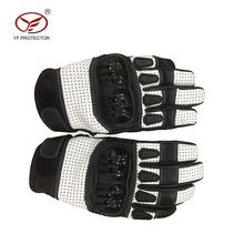Personalized motorcycle/motocross gloves/safety gloves leather