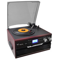 Best price decorative customized turntable cd player for sale