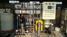 2000L PLC control reverse osmosis with EDI deionization system for water purification