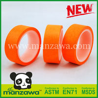 Manzawa colorful wholesale fluorescent sticker paper