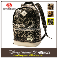 2016 Classic Cool Design of Leopard Print Leather with a Long History for Teenage Girls