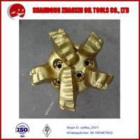 Oilfield drill rig parts drilling tool 4/5/6/7/8 blades steel/matrix body PDC bit