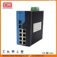 High EMC Level 4 Industrial Ethernet Switch with SFP Port