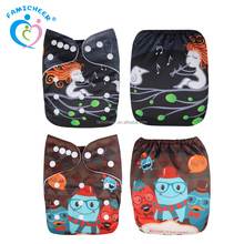 Famicheer Washable Premature Tiny Newborn Baby Cloth Diapers