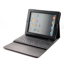 Big Sales Unique Wireless Bluetooth Keyboard + Leather Case Stand Cover for iPad 2 3 New iPad Durable Black