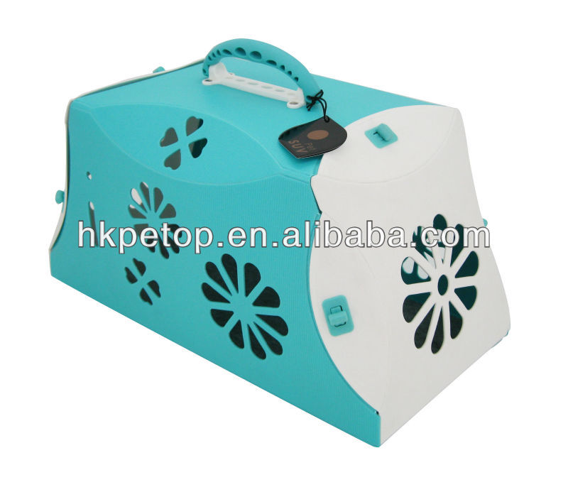 2014 Blue Super Light Weight Pet Dog Carrier