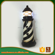 Competitive Price Souvenir Gift Home Ornament Polyresin Lighthouse Decoration