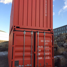 40' Length (feet) and Dry Container Type 40ft Dry Van used new shipping container for sale