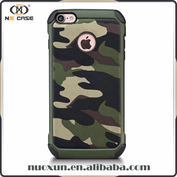 Case phone camouflage armor, case thin hard protective cover