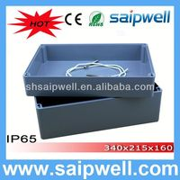 2014 High quality IP65 waterproof enclosure 340*235*160MM(aluminum box serirs) WITH CE Approval