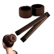 8 Colors In Stock Now DIY Magic Hair Rollers Pack Hair Bun Maker