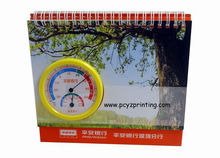 2014 cheap spiral binding desk calendar printing
