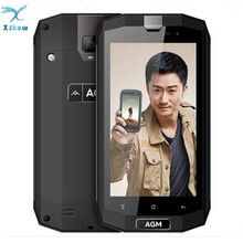 "New AGM A1Q 5.0"" IP68 Waterproof Shockproof Rugged Smartphones Android 7.0 4G LTE Dual SIM 4GB+64GB Quad Core 13.0MP 4050mAh"