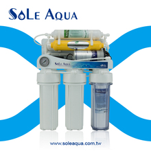 Pure water 6 stages reverse osmosis water filter