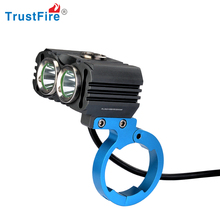Trustfire original factory bicycle light 2*XM-L 2 led 4.2v rechargeable mountain bike light 800 lumens