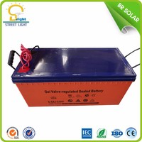 High performance 12v 100ah UPS lead acid gel solar batteries