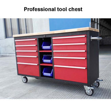 Mobile 60'' rolling tool cabinets heavy duty tool box chest on 6'' castor wheels