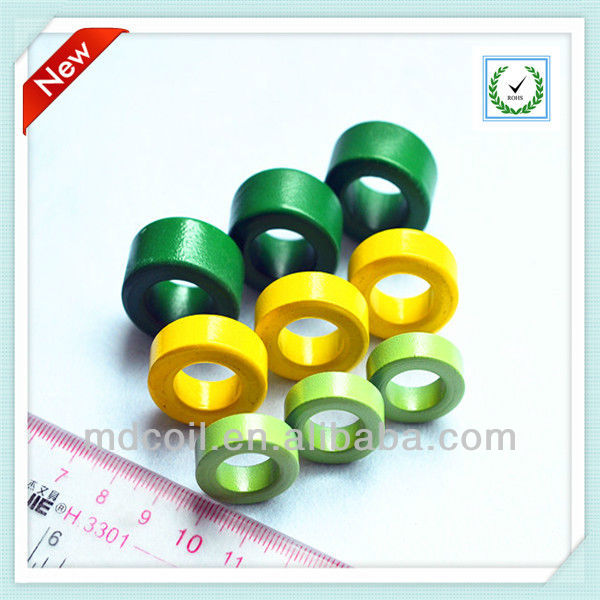 Magnetic toroidal ferrite core /iron powder corefor inductor