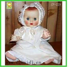 Cute plastic baby doll for kid gifts
