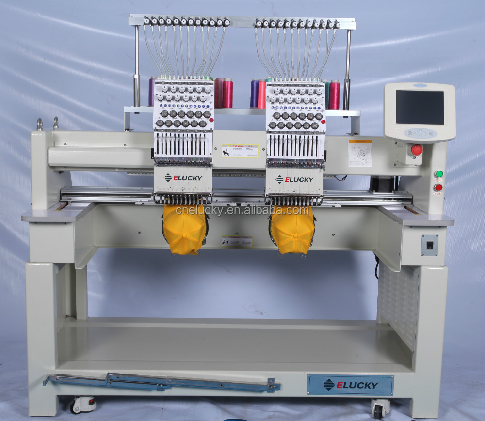 2 embroidery machine for sale