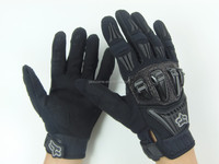 New Motorbike Fast Racing Leather Gloves,Cow Hide Motorbike Gloves