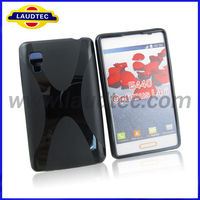Newly X Line TPU Soft back Case Cover For LG Optimus L1 II E410