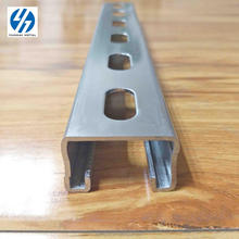 Hot selling galvanized beam steel C channel perforated price strut channel cold formed steel