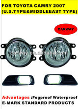 for toyota camry 2007 fog light